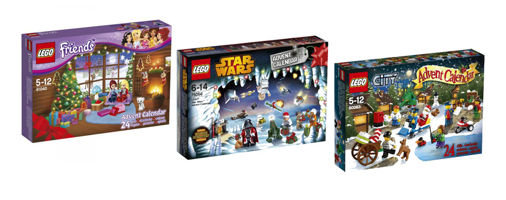 LEGO Advent Calendars for 2014