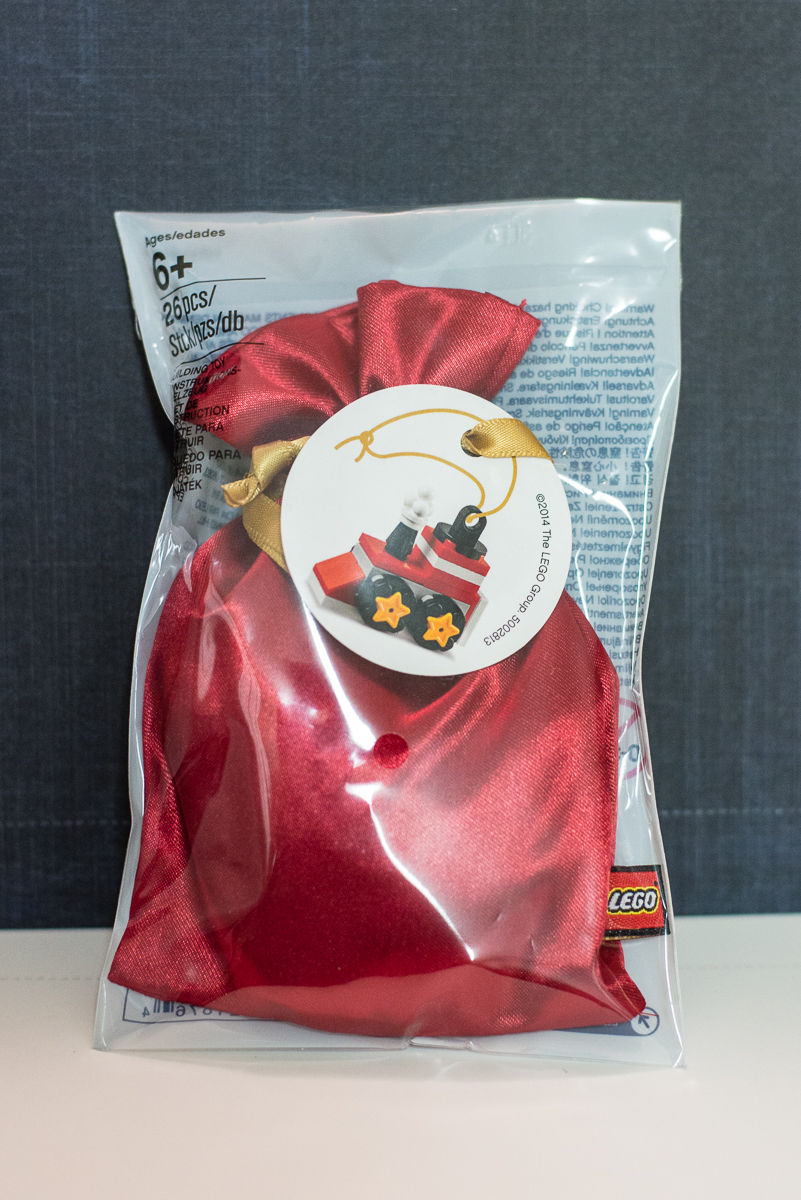 LEGO Holiday Christmas Train Ornament 2014 VIP Exclusive