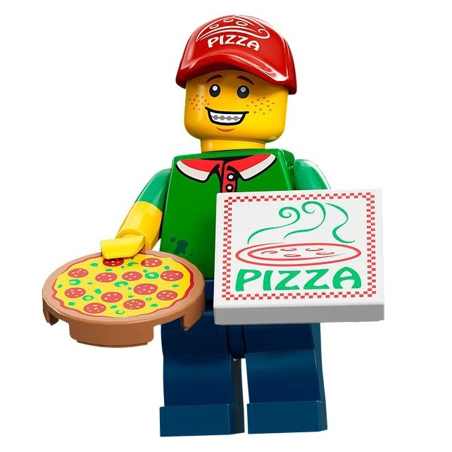 LEGO Minifigure Series 12 Pizza Delivery Man