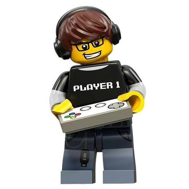 LEGO Minifigure Series 12 Video Game Guy