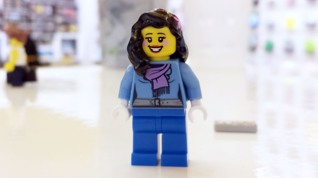 LEGO Female Minifigure with Rosy Cheeks