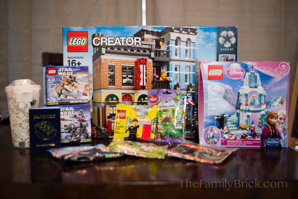 LEGO January 1st purchases