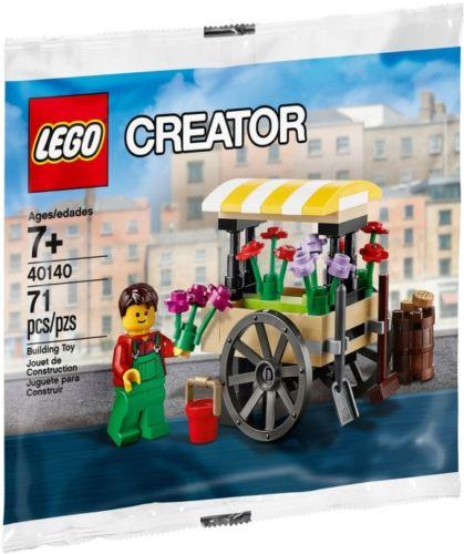 LEGO Flower Cart