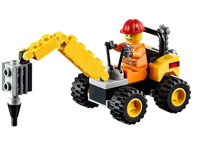 LEGO City Demolition Driller Polybag