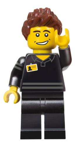 LEGO Store Employee Minifigure Exclusive Polybag