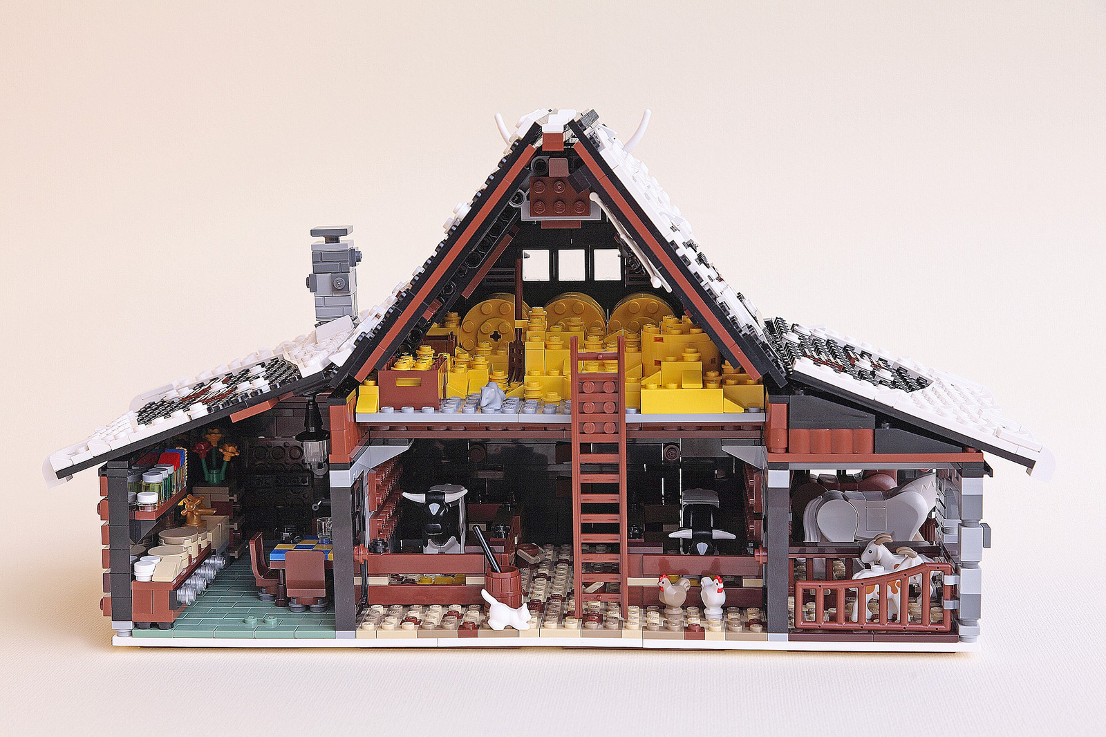 LEGO Ideas Winter Farm The Family Brick