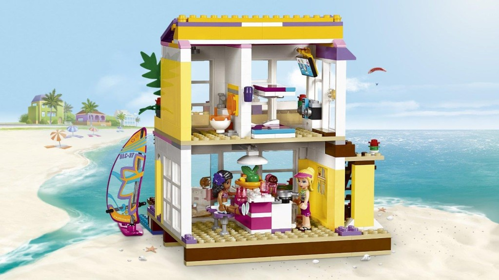 LEGO Friends Stephanie's Beach House 41037