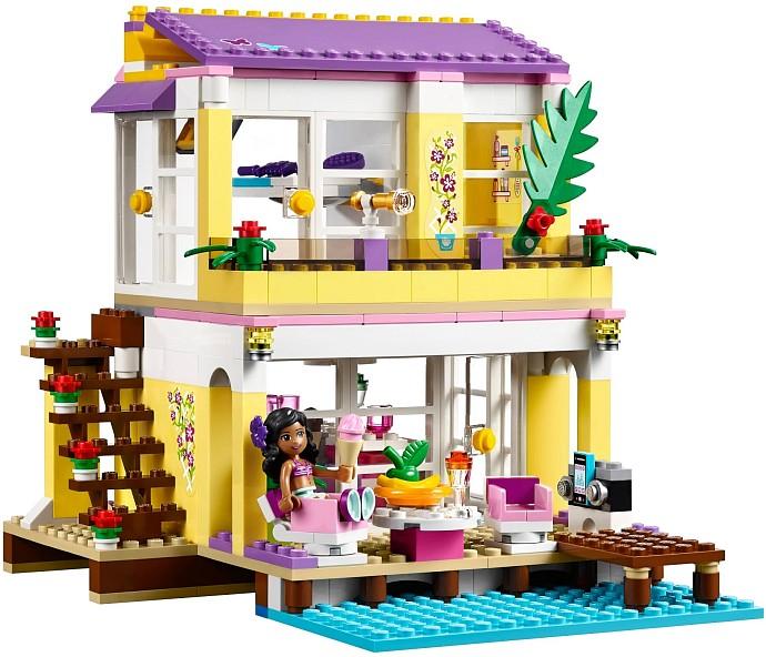 LEGO Friends Stephanie's Beach House 41037 Front Side