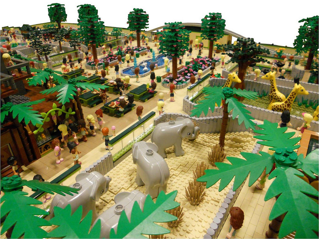 LEGO Friends Animal Park by Anne Mette V 1