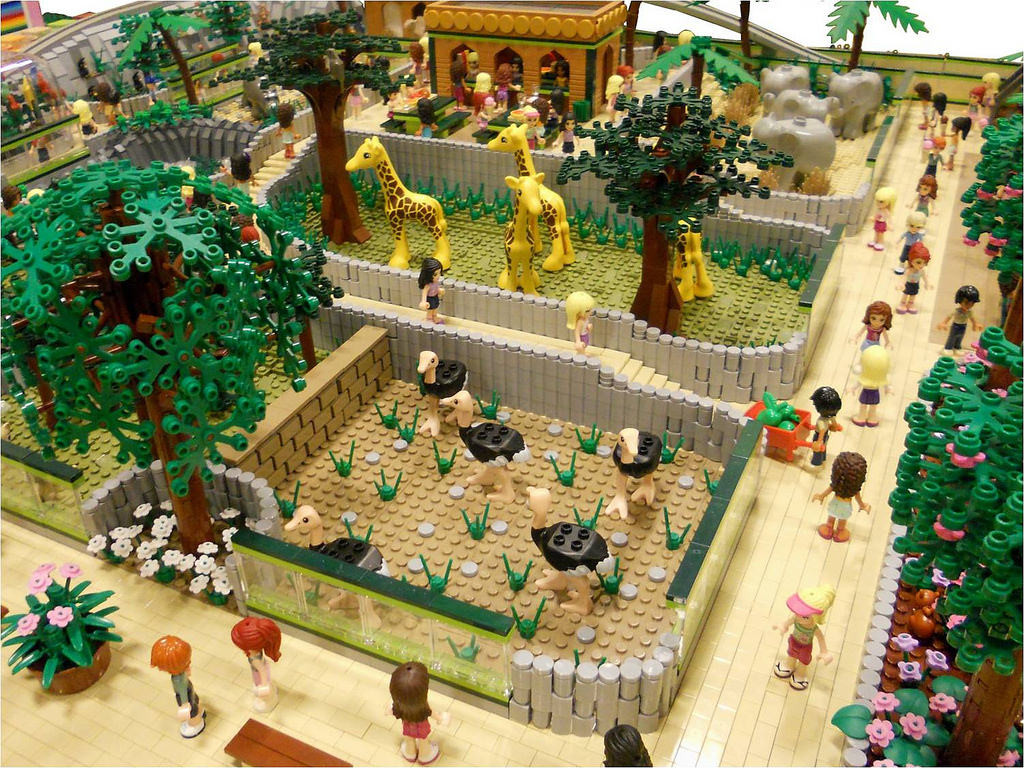 LEGO Friends Animal Park by Anne Mette V 2