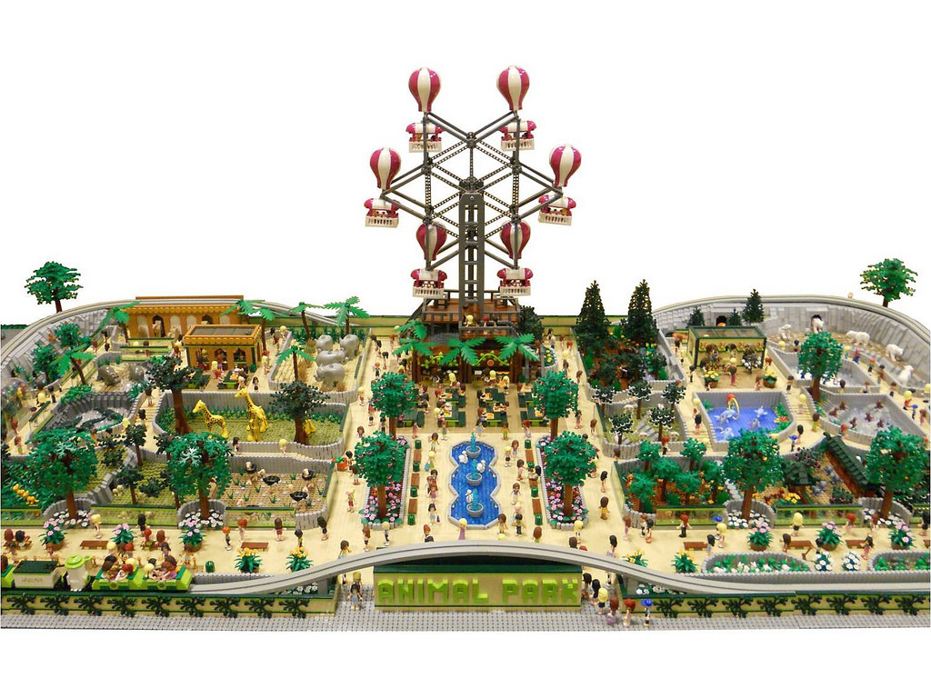 LEGO Friends Animal Park by Anne Mette V 5
