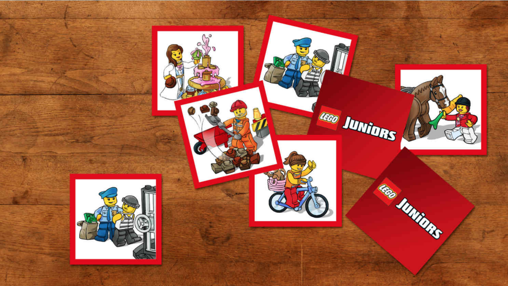 LEGO Juniors Memory Game