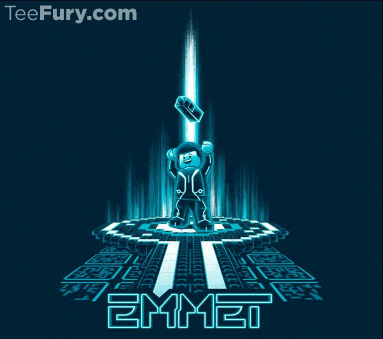 Teefury Emmetron Tshirt Design