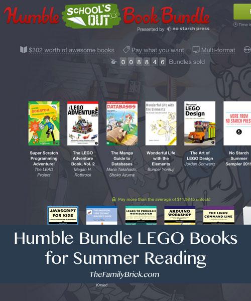 Humble Bundle LEGO Books for Summer Reading