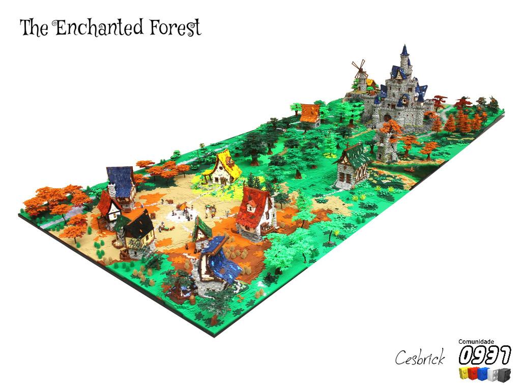 LEGO_Enchanted_Forest_MOC_1