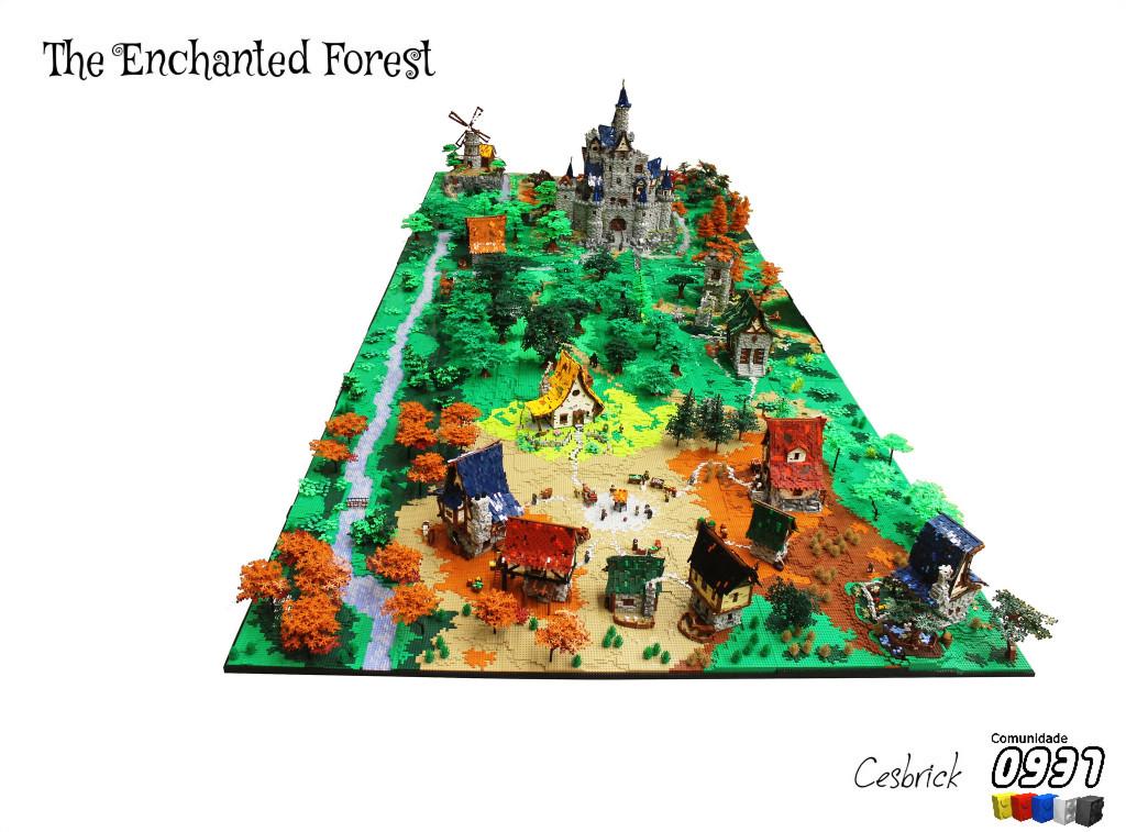 LEGO_Enchanted_Forest_MOC_2