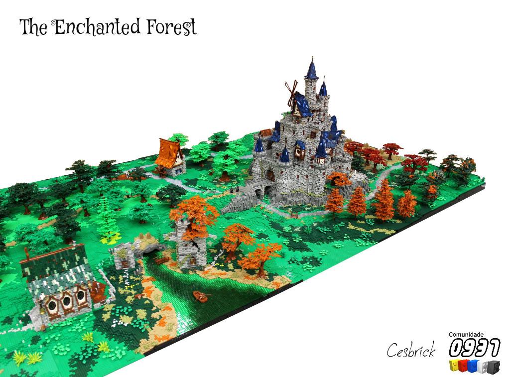 LEGO_Enchanted_Forest_MOC_4