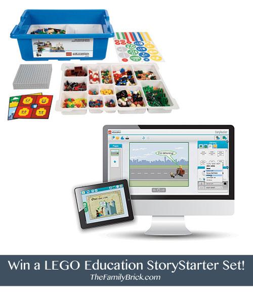 Win a LEGO Education StoryStarter Set!