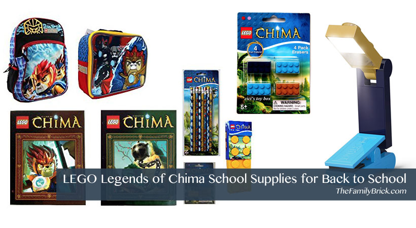 LEGO Legends of Chima School Supplies for Back To School