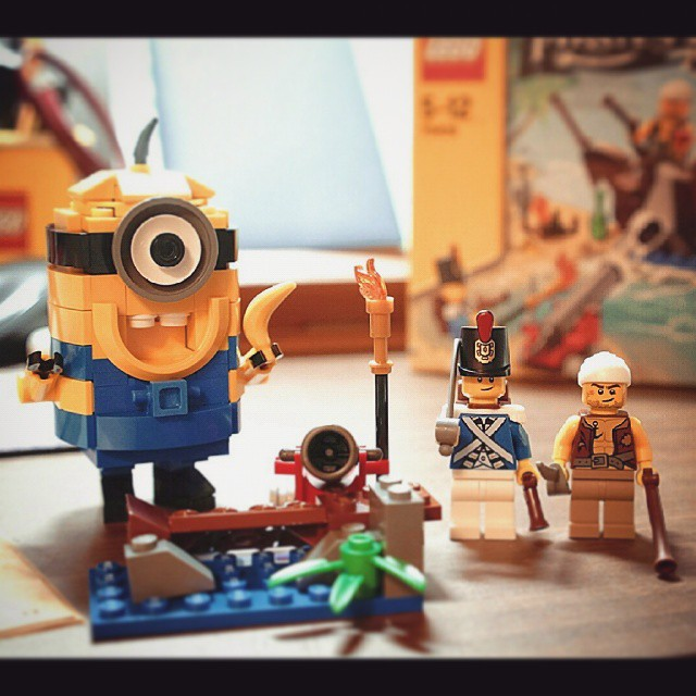 LEGO Minion and Pirates