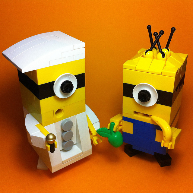 LEGO Minions by Guilherme Lima on Flickr