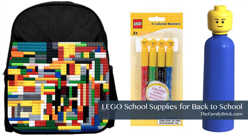LEGO School Supplies for Back To School