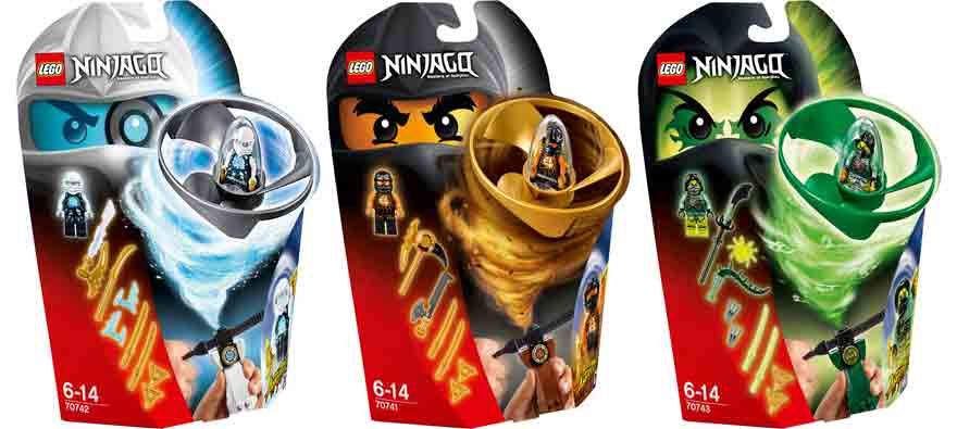 Airjitzu Play at LEGO Stores August 31 - November 1
