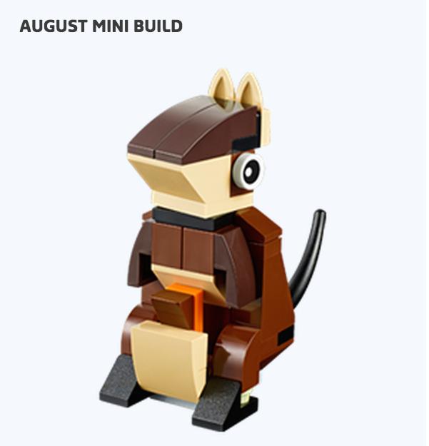 August 2015 LEGO Monthly Mini Build Kangaroo