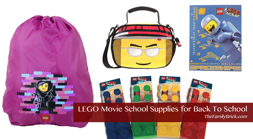 LEGO Movie School Supplies for Back To School
