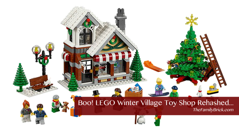 LEGO Winter Village Toy Shop