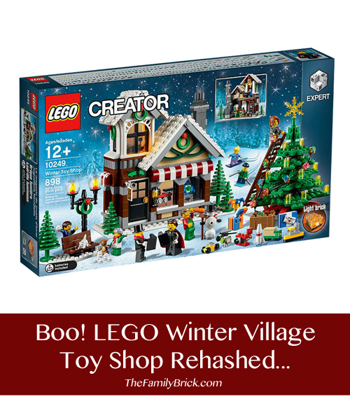 LEGO Winter Village Toy Shop Rehashed