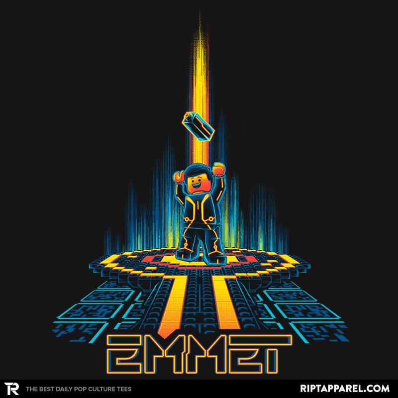"""LEGO """"Emmetron"""" Tshirt on RIPT Apparel"""