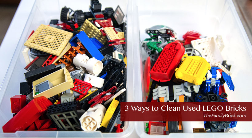 4 Ways to Clean Used LEGO Bricks