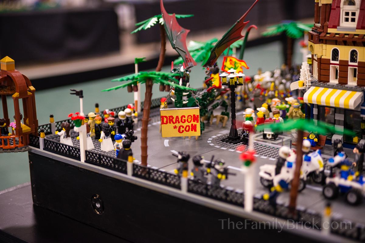 Celebricktion 2014 DragonCon Parade