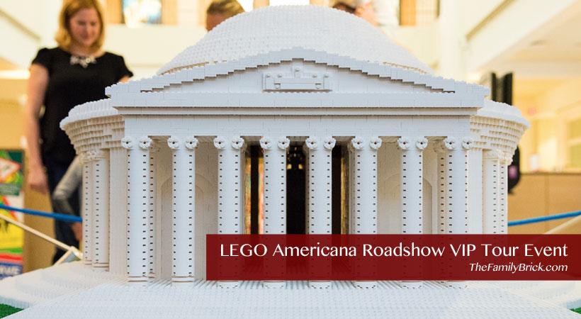 LEGO Americana Roadshow VIP Tour Event
