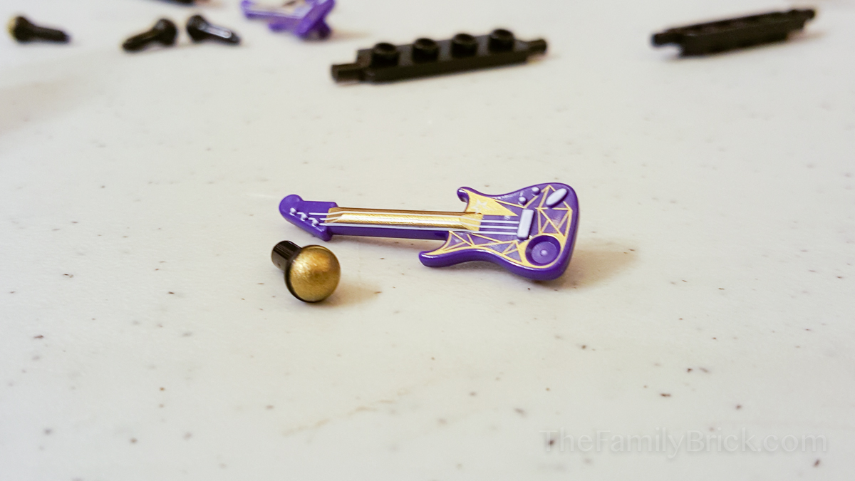 LEGO Friends Build Event - Guitar and Gold Microphone