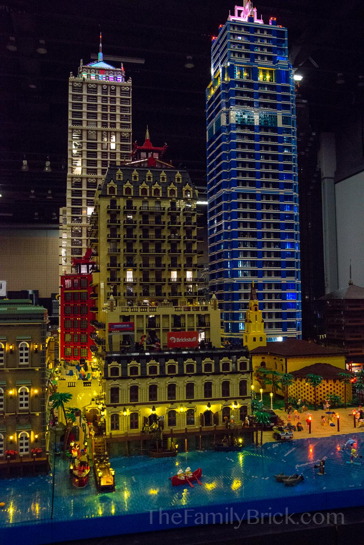 Celebricktion City at Night