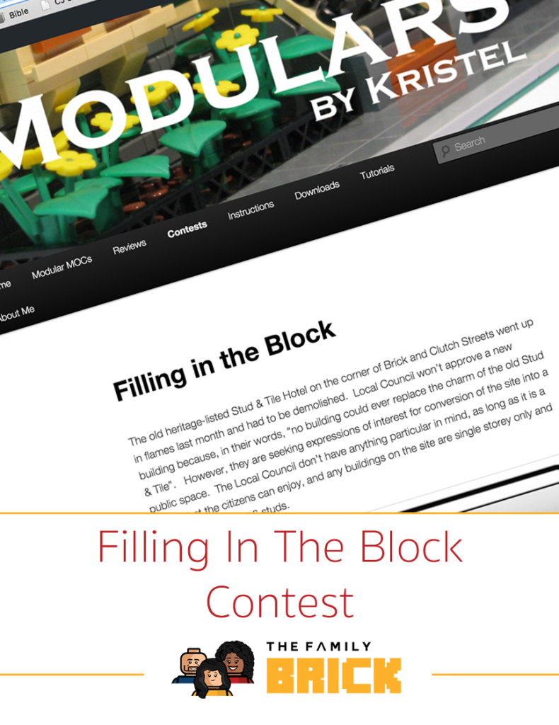 Filling In The Block Contest from Modulars By Kristel