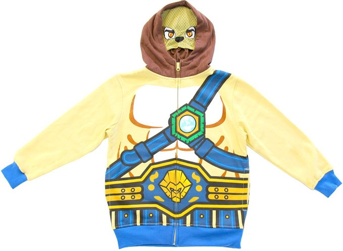 LEGO Legends of Chima - Tan LEGO Costume Hoodies