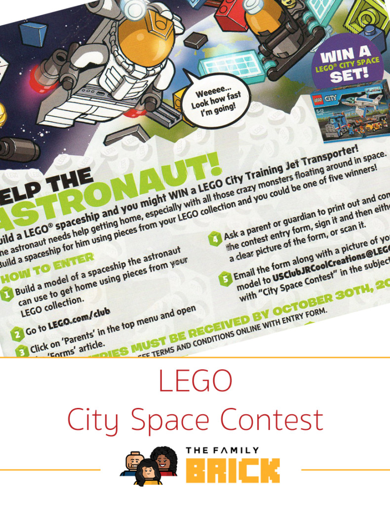 LEGO City Space Contest