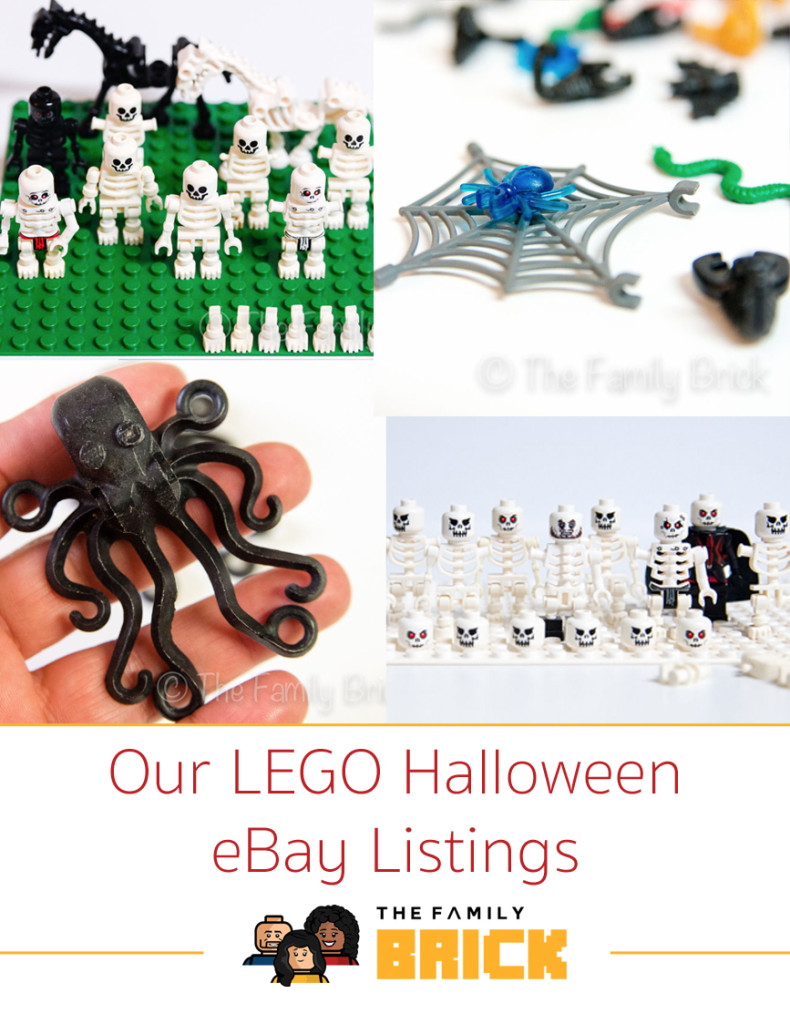 Our LEGO Halloween eBay Listings