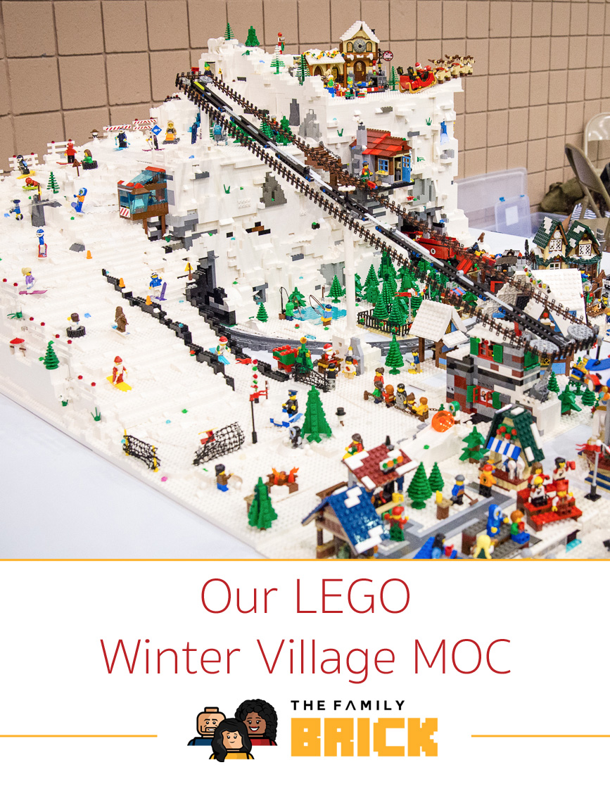 Our LEGO Winter Village MOC - The Family Brick