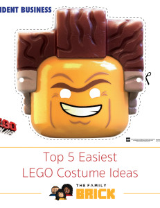 Top 5 Easiest LEGO Costume Ideas