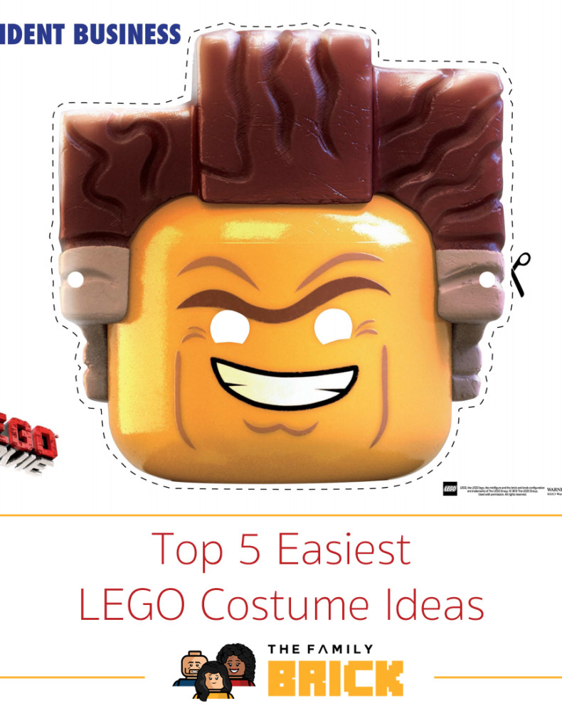 Top 5 Easiest LEGO Costume Ideas