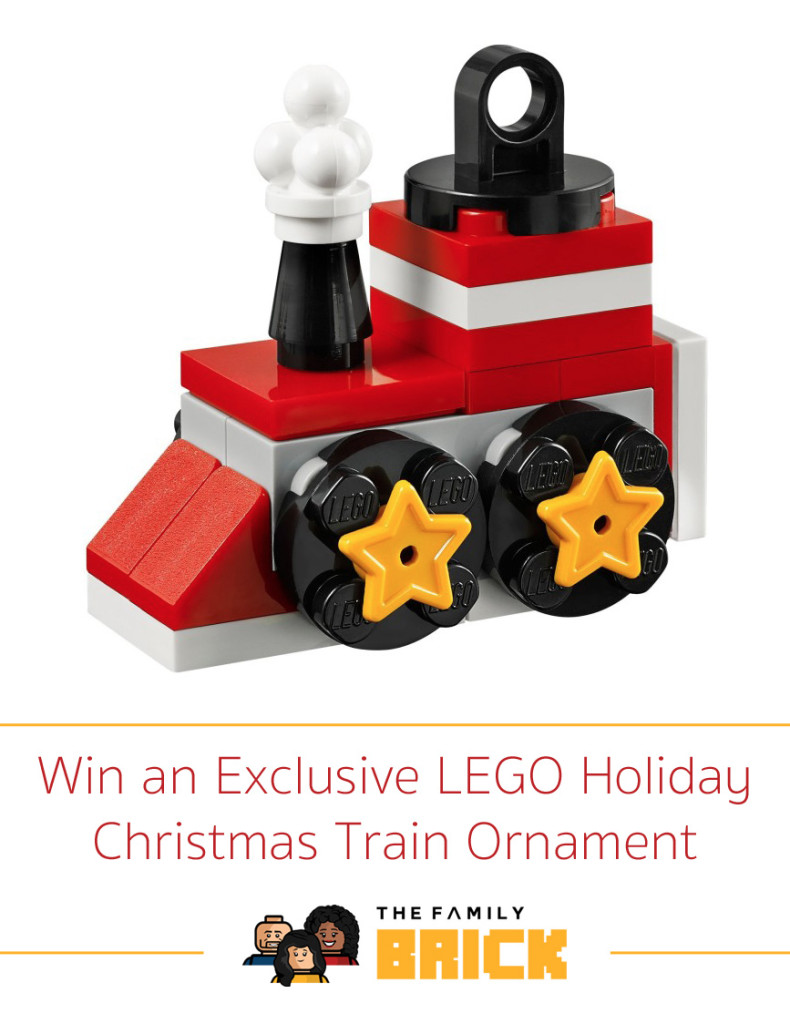 Win an Exclusive Holiday Christmas Train