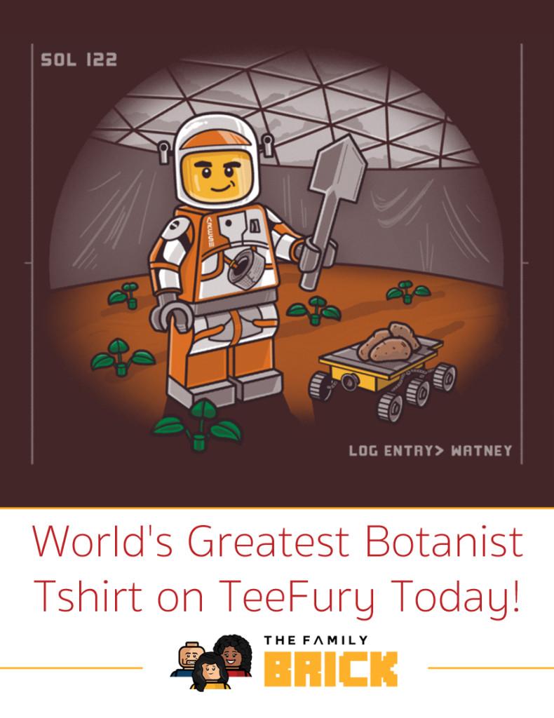 Worlds Greatist Botanist Tshirt on Teefury