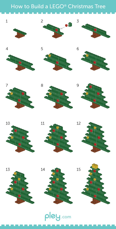 Build a LEGO Christmas Tree