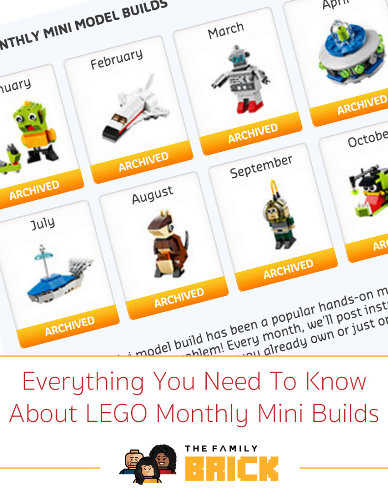 Everything You Need To Know About LEGO Monthly Mini Builds