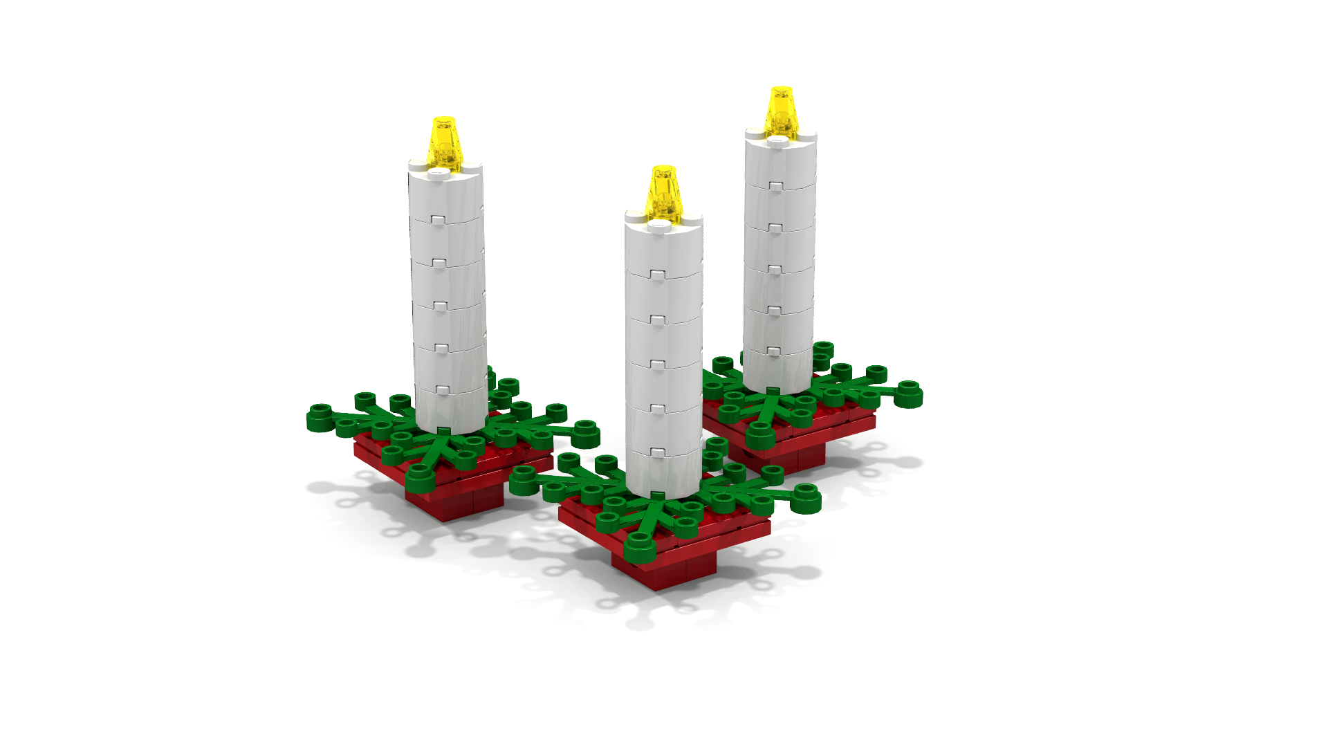 5 simple lego christmas ornaments to make the family brick for Decoration lego