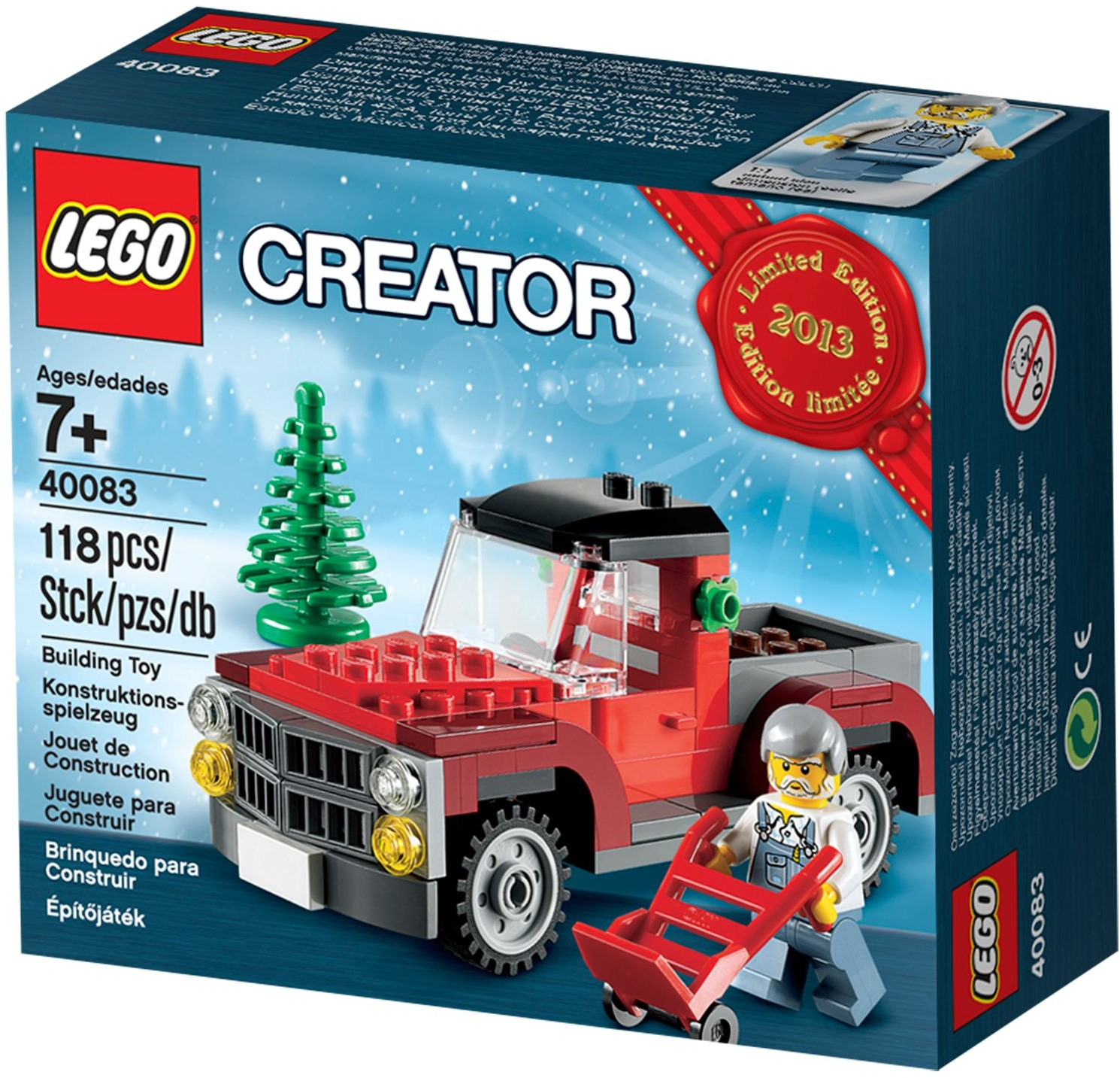 LEGO Christmas Tree Truck 40083